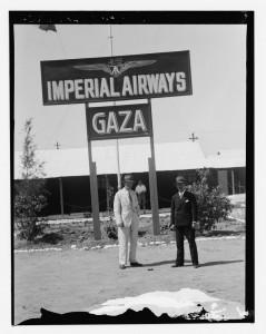 Aeropuerto de Gaza, 1935